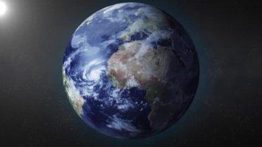 Erde — Stockvideo
