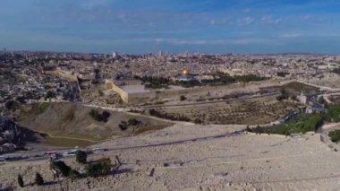 Batı Kudüs uçuş — Stok video
