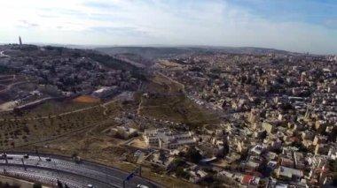 West Jerusalem flight — Stock Video