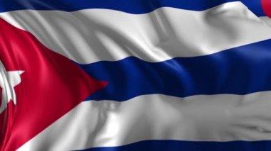 Flag of Cuba — Stock Video