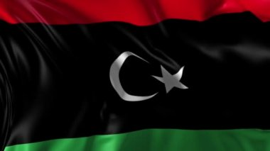 Flag of Libya — Stock Video