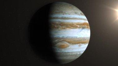 Planety Jowisz — Wideo stockowe