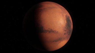 Mars planet — Wideo stockowe
