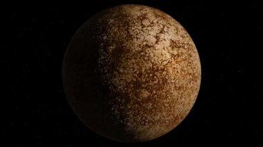 Mercúrio do planeta — Vídeo stock