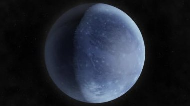 Planet Pluto — Stock Video
