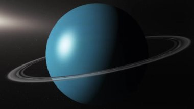 Planet Uranus — Stock Video