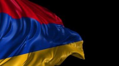 Flag of Armenia — Stock Video