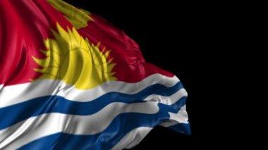Flag of Kiribati — Stock Video