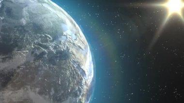 Widok ziemi — Wideo stockowe