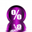 Stock Photo: Percent