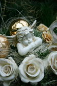 Angel figurine — Stock Photo