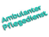 Ambulanter pflegedienst — 图库照片