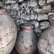Ancient ceramic pitchers — Stock Photo #25515879