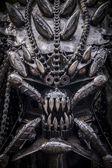 Predator from steel — Stock Photo