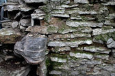 Old stone wall. — Stock Photo