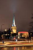 Tallinn nightlife. — Stock Photo