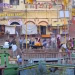 Ganges ritual — Stock Photo