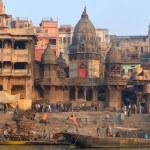 Manikarnika Ghat — Stock Photo #46662543