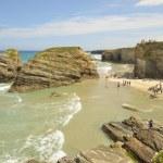 ������, ������: Cathedrals beach