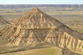Mount in Bardenas — Stock Photo