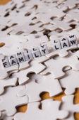 Family Law — Stock Photo