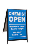 Chemist Sign — Stock Photo