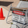 Stock Photo: Confined Space