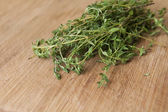 Thyme Leaves — Stock Photo