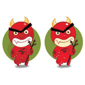 Cartoon devil — Stock Vector