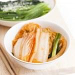 Kimchi (Korean food) — Stock Photo