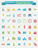 Flat Icon -- Travel Series — Stock Vector