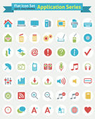 Flat Icon -- Application Series — Stock Vector