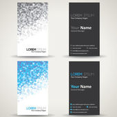 Creative business card template — Vetorial Stock