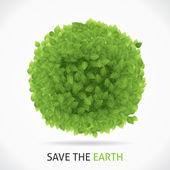 Save Our Earth — Stock Vector