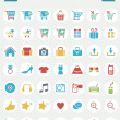 Royalty-Free Stock Vectorielle: Flat Icon -- Online Shopping