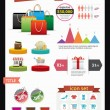 Shopping Infographics — Stock Vector #26543447