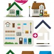 Home Icon Maker — Stock Vector