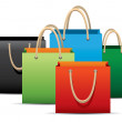 Stock Vector: Shopping Bag