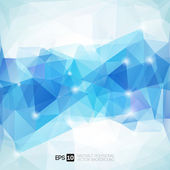 Abstract polygonal geometric background — Stock Vector