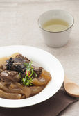 Chinese cuisine, beef stew and beef tendon — Stock Photo