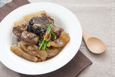 Chinese cuisine, beef stew and beef tendon — Foto Stock