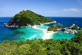 Koh Tao - a paradise island in Thailand. — Stock Photo