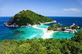 Koh Tao - a paradise island in Thailand. — Stock Photo