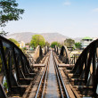 The picture of the bridge over the River Kwai. — Stock Photo