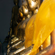 The bronze statue of the Buddha — Stock Photo