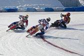 Ice Speedway — Stock Photo