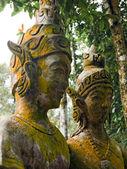 Το γλυπτό του βασιλιά και της Βασίλισσας. — Φωτογραφία Αρχείου