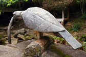 Sculpture bird-eating snake. — Stock Photo