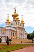 Church of Grand Palace of Peterhof — 图库照片