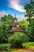 木制教堂 — 图库照片